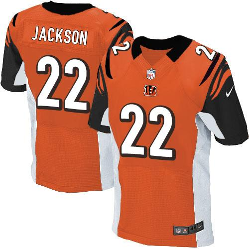 Nike Bengals #22 William Jackson Orange Alternate Men's Stitched NFL Elite Jersey