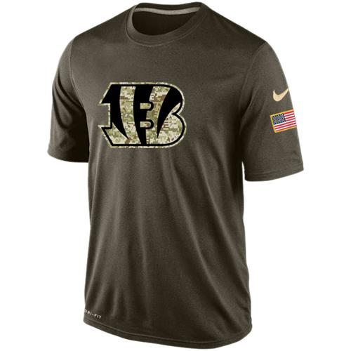 Men's Cincinnati Bengals Salute To Service Nike Dri-FIT T-Shirt