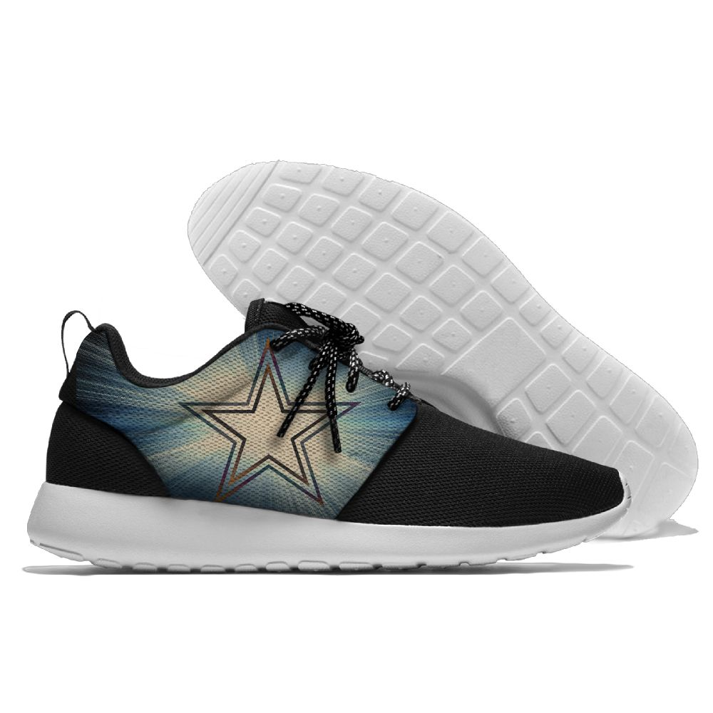 Women's NHL Dallas Stars Roshe Style Lightweight Running Shoes 003