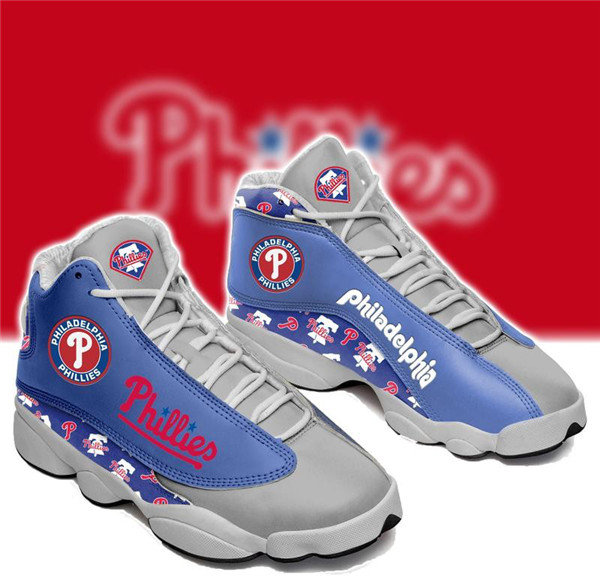 Men's Philadelphia Phillies Limited Edition JD13 Sneakers 001