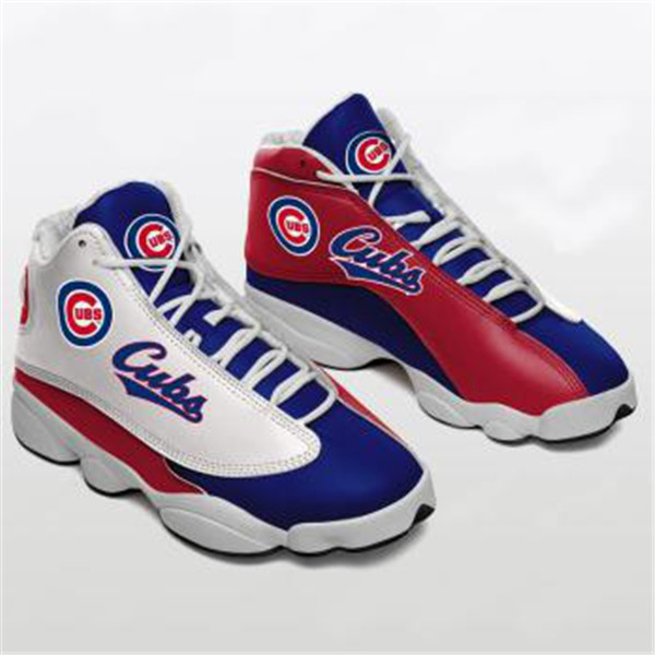Men's Chicago Cubs Limited Edition JD13 Sneakers 001