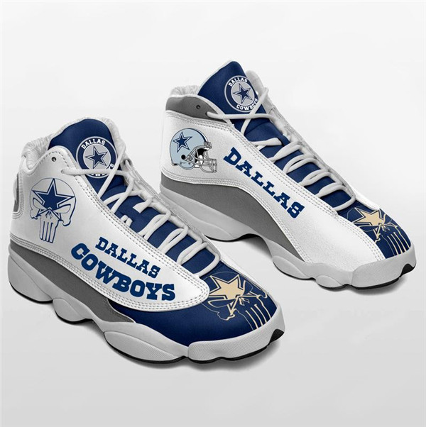 Men's Dallas Cowboys Limited Edition JD13 Sneakers 011