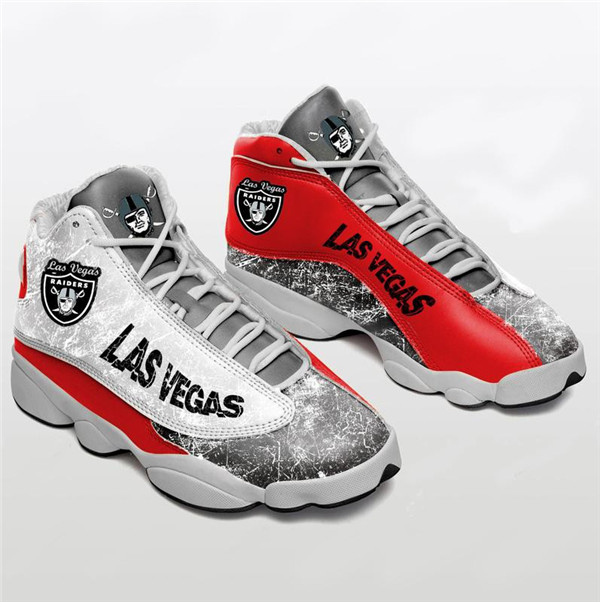 Men's Las Vegas Raiders Limited Edition JD13 Sneakers 012