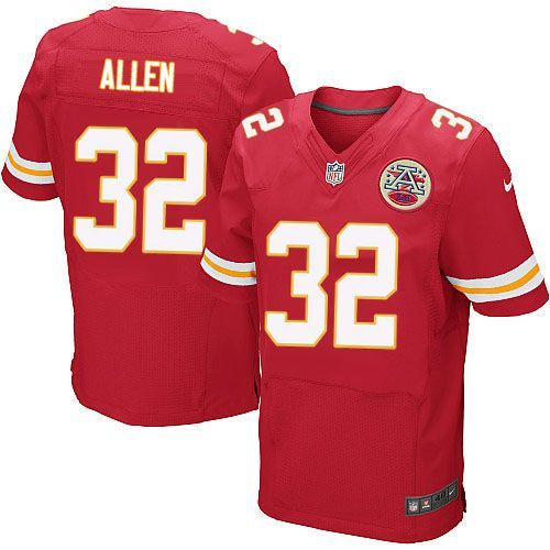 Nike Chiefs #32 Marcus Allen Red Team Color Men's Stitched NFL Elite Jersey