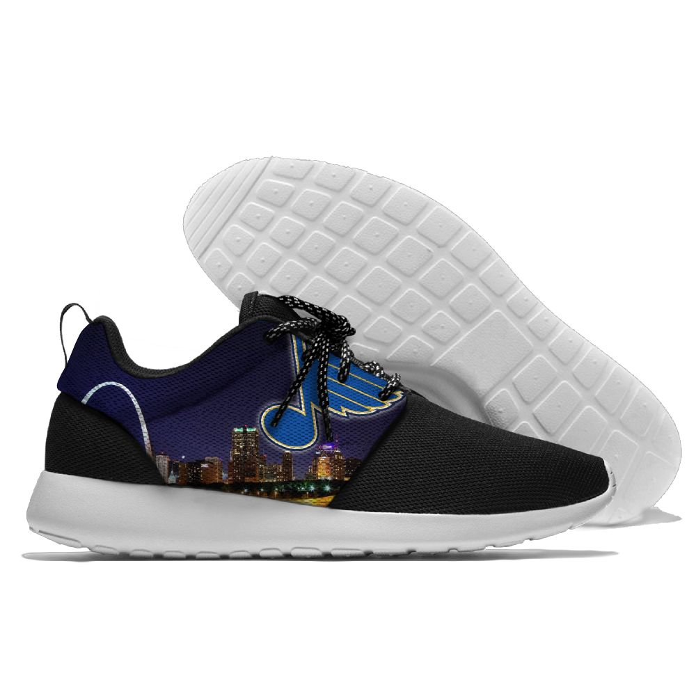 Men's NHL St. Louis Blues Roshe Style Lightweight Running Shoes 002