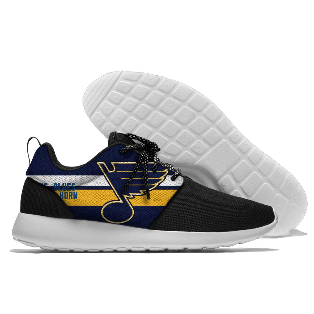 Men's NHL St. Louis Blues Roshe Style Lightweight Running Shoes 001