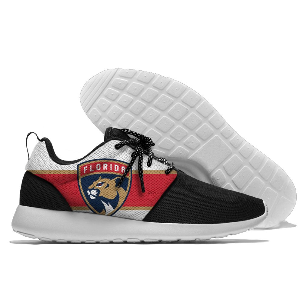 Men's NHL Florida Panthers Roshe Style Lightweight Running Shoes 003