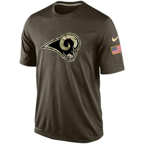 Men's Los Angeles Rams Salute To Service Nike Dri-FIT T-Shirt
