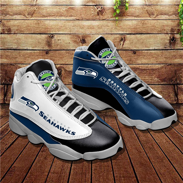 Men's Seattle Seahawks Limited Edition JD13 Sneakers 003