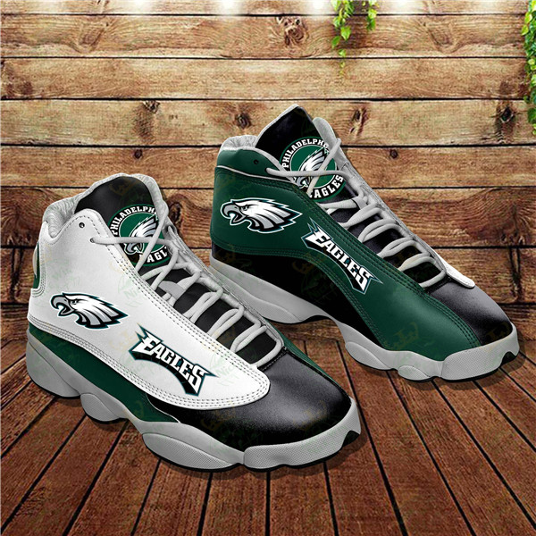 Men's Philadelphia Eagles Limited Edition JD13 Sneakers 002