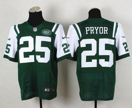 Nike Jets #25 Calvin Pryor Green Team Color Men's Stitched NFL Elite Jersey