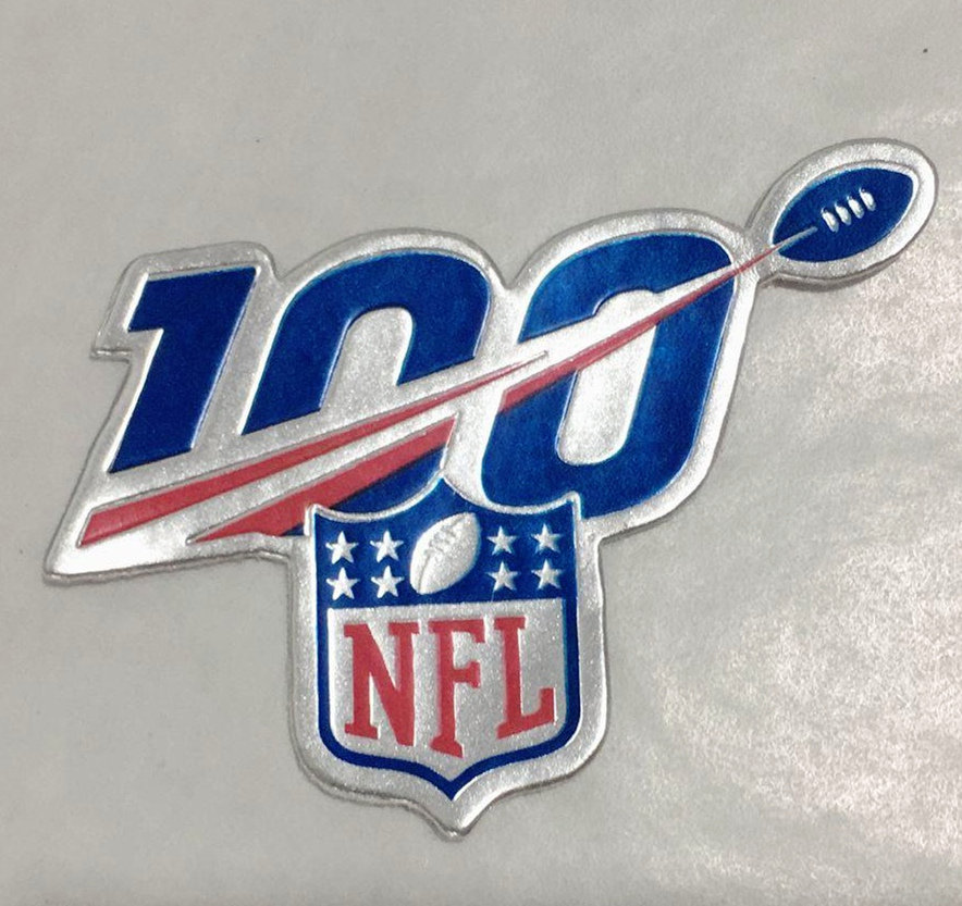 NFL 2019 100th Season Logo