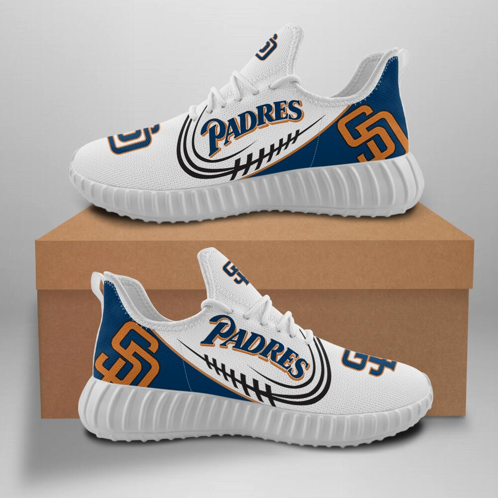 Women's MLB San Diego Padres Lightweight Running Shoes 001
