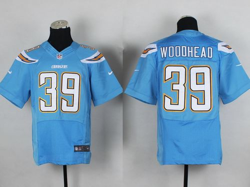 Nike Chargers #39 Danny Woodhead Electric Blue Alternate Men's Stitched NFL New Elite Jersey