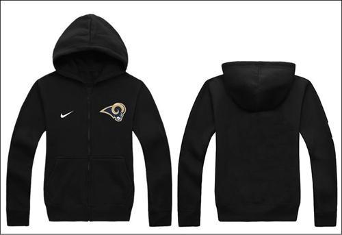 Nike St.Louis Rams Authentic Logo Hoodie Black
