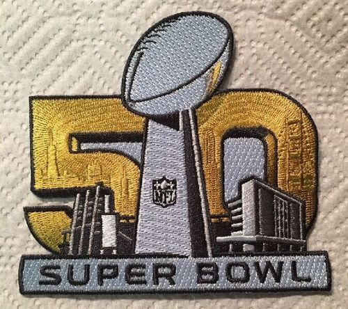 Stitched 2016 Super Bowl L 50 Jersey Patch