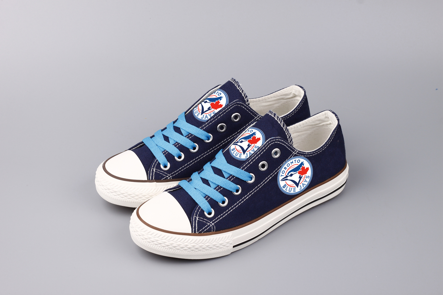 Women's MLB Toronto Blue Jays Repeat Print Low Top Sneakers