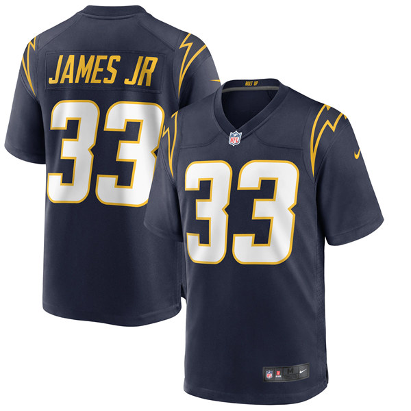 Men's Los Angeles Chargers #33 Derwin James 2020 Navy Alternate Game NFL Stitched Jersey