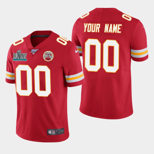 Men's Chiefs ACTIVE PLAYER Red Super Bowl LIV Vapor Untouchable Limited Stitched NFL Jersey