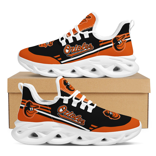 Men's MLB Baltimore Orioles Flex Control Sneakers 002