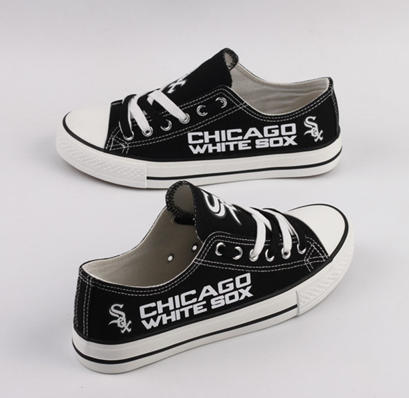 Women's MLB Chicago White Sox Repeat Print Low Top Sneakers