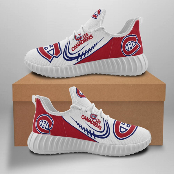 Men's NHL Montreal Canadiens Lightweight Running Shoes 002