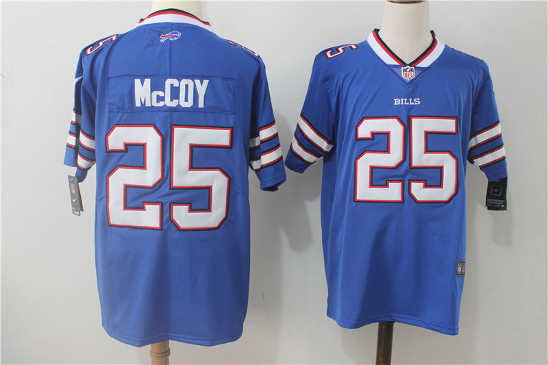 Men's Nike Buffalo Bills #25 LeSean McCoy Royal Blue Team Color Stitched NFL Vapor Untouchable Limited Jersey
