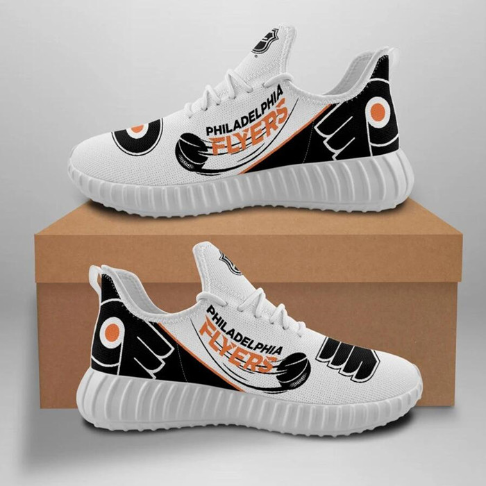 Women's NHL Philadelphia Flyers Lightweight Running Shoes 004