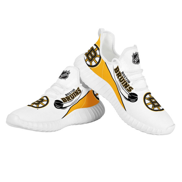 Women's NHL Boston Bruins Lightweight Running Shoes 004