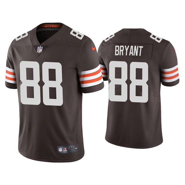 Men's Cleveland Browns #88 Harrison Bryant New Brown Vapor Untouchable Limited Stitched Jersey