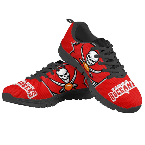 Men's NFL Tampa Bay Buccaneers Lightweight Running Shoes 005
