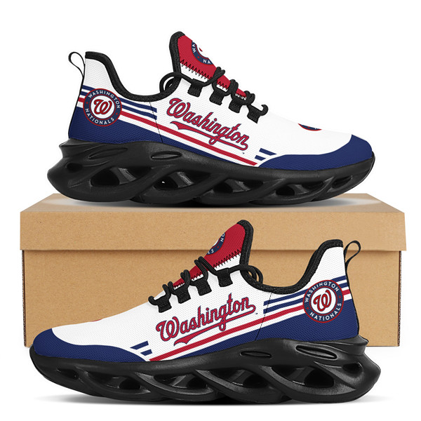 Men's Washington Nationals Flex Control Sneakers 001