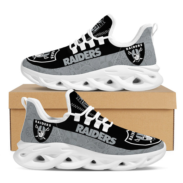 Men's Las Vegas Raiders Flex Control Sneakers 004