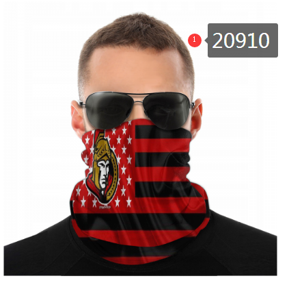 Senators Face Scarf 020910 (Pls Check Description For Details)Senators Face Mask Kerchief