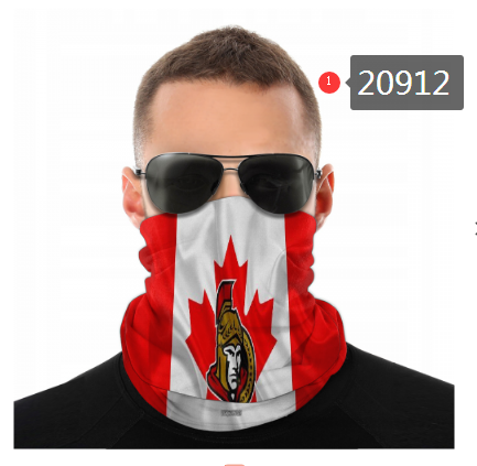 Senators Face Scarf 020912 (Pls Check Description For Details)Senators Face Mask Kerchief