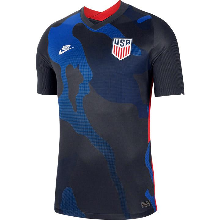 Men's USA Crest Away Navy Jersey