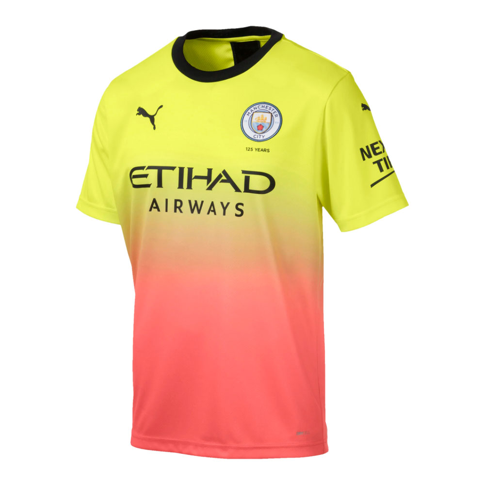 Men's Manchester City 2019/2020 Third Kit Jersey