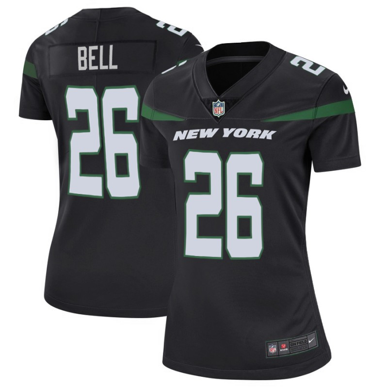 Women's New York Jets #26 Le'Veon Bell Black Vapor Untouchable Limited Stitched NFL Jersey