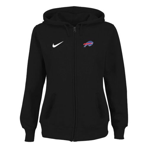 Women's Buffalo Bills Stadium Rally Full Zip Hoodie Black