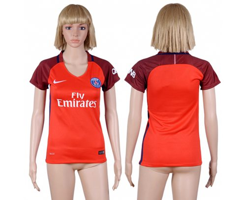 Women's Paris Saint-Germain Blank Away Soccer Club Jersey