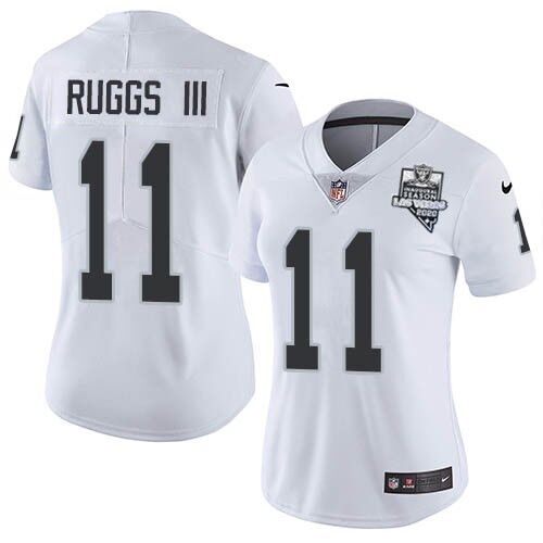 Women's Las Vegas Raiders #11 Henry Ruggs III White 2020 Inaugural Season Vapor Untouchable Limited Stitched Jersey(Run Small)