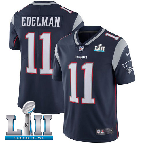 Youth New England Patriots #11 Julian Edelman Nike Navy Vapor Untouchable Limited Stitched NFL Jersey