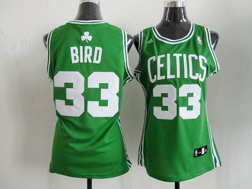 Youth Celtics Green #33 Larry Bird Stitched NBA Jersey