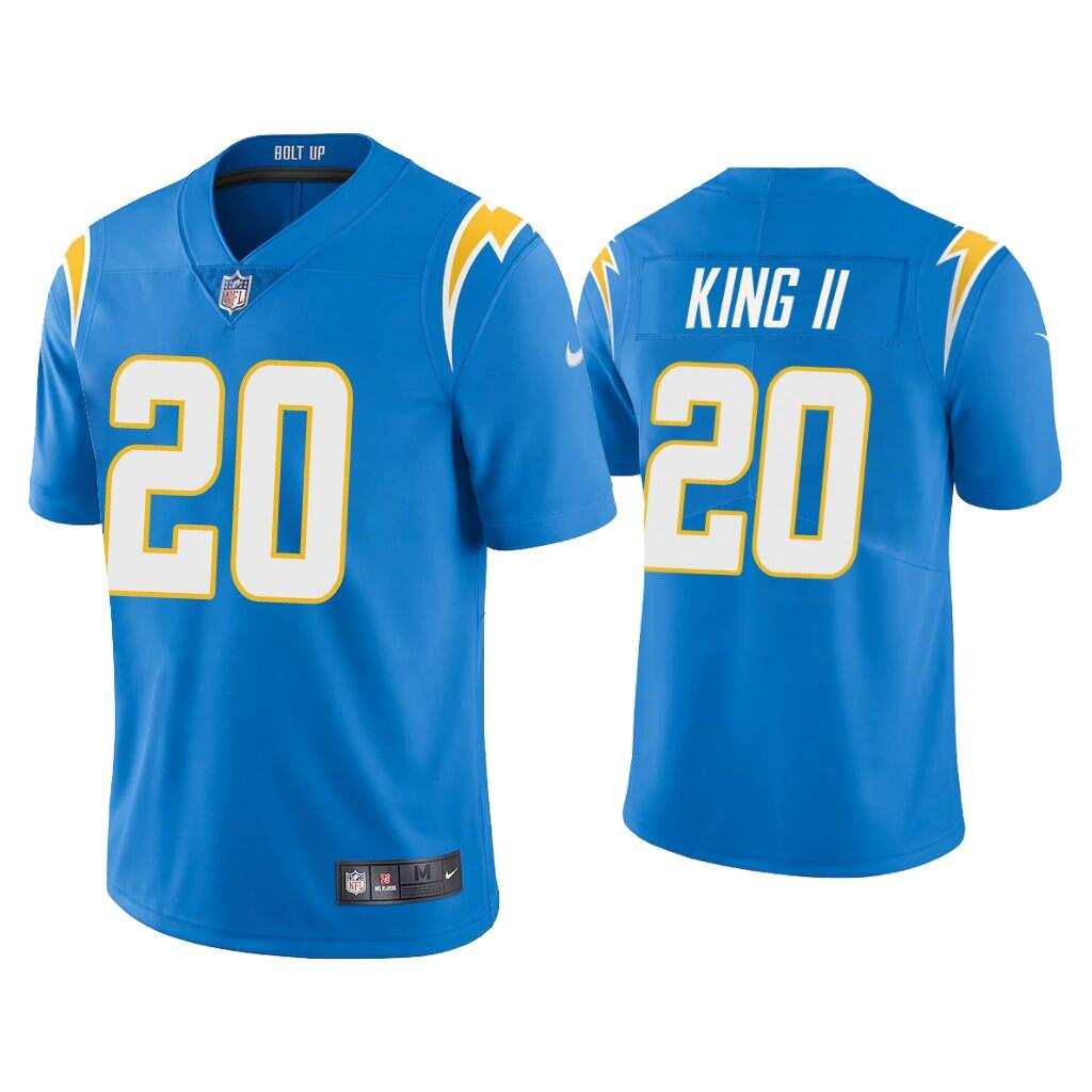 Youth Los Angeles Chargers #20 Desmond King II 2020 Blue Vapor Untouchable Limited Stitched NFL Jersey