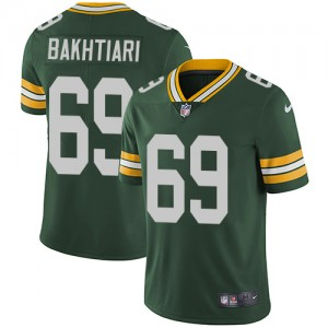 Youth Green Bay Packers #69 David Bakhtiari Green Vapor Untouchable Stitched NFL Jersey