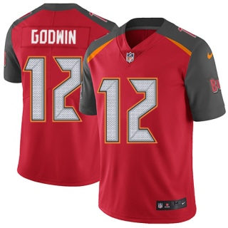 Youth Tampa Bay Buccaneers #12 Chris Godwin Red Vapor Untouchable Limited Stitched NFL Jersey