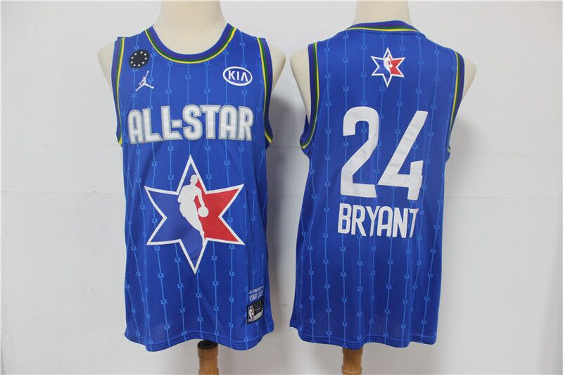 Youth Los Angeles Lakers #24 Kobe Bryant Blue 2020 All-Star Stitched NBA Jersey