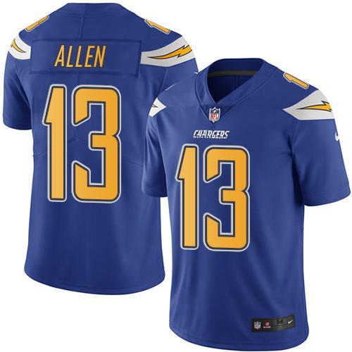 Nike Chargers #13 Keenan Allen Electric Blue Youth ...