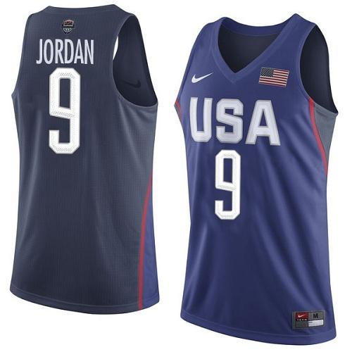 Nike Team USA #9 Michael Jordan Navy Blue 2016 Dream Team Game Youth NBA Jersey