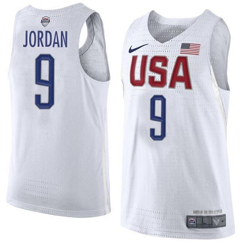 Nike Team USA #9 Michael Jordan White 2016 Dream Team Game Youth NBA Jersey